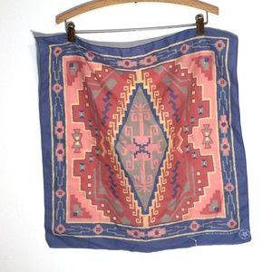 Wamcraft vintage western print scarf